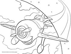 Disney's Planes Coloring Pages Sheet, Free Disney Printable Planes Color Page