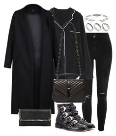 """""""Untitled #2988"""" by theeuropeancloset ❤ liked on Polyvore featuring River Island, WithChic, Non, Givenchy, Yves Saint Laurent, ASOS, Vita Fede and STELLA McCARTNEY"""