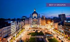 Groupon - Antwerpen: 1 of 2 nachten voor 2 bij 4* The Plaza Hotel in een deluxe kamer met late check-out met keuze bierproeverij in Antwerpen. Groupon-dealprijs: €79,90
