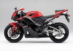 Honda CBR600RR red left side 2011