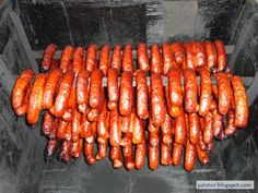 Blog pro mlsné jazýčky: Domácí klobásy Carne, Hot Dogs, Vegetables, Ethnic Recipes, Meat Products, Blog, Sausages, Fitness, Vegetable Recipes