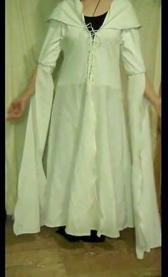 How to Make a Medieval Sorceress Costume (Confessor Dress)