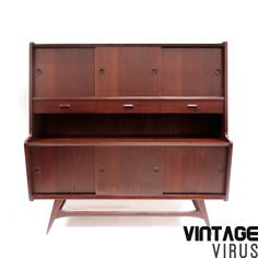 Vintage kast / dressoir / buffetkast van Louis van Teeffelen gemaakt in de jaren '60 – Vintage Virus