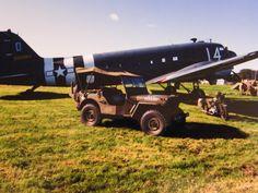 My jeep at Wings and Wheels at Dunsfold UK. ( Martin Ayling ).