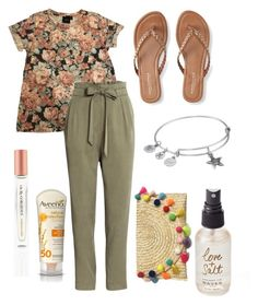 """Summer Vacation"" by kyra-leee on Polyvore featuring ASOS, Aéropostale, Soma, Aveeno, Olivine and Alex and Ani"