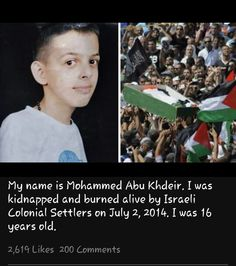ROTTEN ZIONISTS . CHILDREN BLOOD SUCKERS . MAY THEM ALL BURN IN HELL. LONG LIVE FREE PALESTINE.