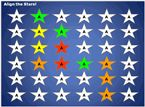 Align the Stars game-no preparation required...you only need a set of questions you want to review with students!
