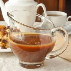 This Rum Sauce a.k.a Rum & Butter Sauce or Rum Caramel Sauce, is an outstandingly delicious addition to desserts like bread pudding, apple pie or ice cream!