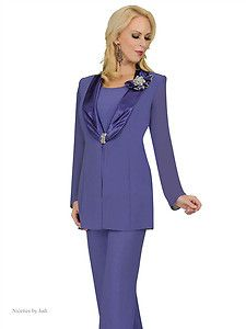 Formal Pant Suits | ... 135507 Purple Black Womens Formal Evening Pant Suit Outfit 8 26 | eBay