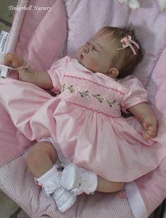 Reborn Doll Kit Jazmine Bell by Sandy Faber Newborn Baby Dolls, Reborn Babies, Real Life Baby Dolls, Rock A Bye Baby, Reborn Doll Kits, Realistic Baby Dolls, Silicone Dolls, Toddler Dolls, Ooak Dolls