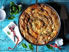 Točená Banica se špenátem Bulgarian Recipes, Bulgarian Food, Savoury Baking, Paella, Quiche, Food And Drink, Pizza, Ethnic Recipes, Blog
