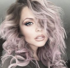 It will be impossible to not spring for hair dye after seeing all these amazingly cool hair color ideas. It will be impossible to not spring for hair dye after seeing all these amazingly cool hair color ideas. Hair Color Purple, Hair Color And Cut, Cool Hair Color, Pink Hair, Crazy Color Hair Dye, Pastel Purple Hair, Light Purple Hair, Purple Tips, Bright Hair