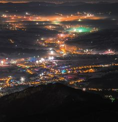 New Year's Eve 2017/2018 as seen and photographed from Kasprowy Wierch by Kuba Witos. Tatry Mountains, Poland. #tatry #tatramountains #mountains #mountainscape #zakopane #mountaineering #hiking #newyear2018 #newyearseve #newyear