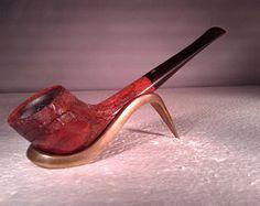 Vintage Scott Algerian Briar Zulu Style Smoking Tobacco Estate Pipe, Made in France