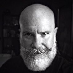 Bald With A Beard 17 Beard Styles For Bald Men beard style bald . Bald With A Beard 17 Beard Styles For Bald Men beard style bald . Bald Head With Beard, Bald Men With Beards, Grey Beards, Beard Bald, Long Beard Styles, Beard Styles For Men, Hair And Beard Styles, Moustaches, Beard Images
