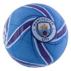 Kick it with PUMA's Manchester City FC FUTURE Flare ball. Ideal for a training or kick-around. Internal rubber bladder aids in air retention.TPE foam and polyester backing. Pumas, Best Player, Manchester City, Soccer Ball, Premier League, Flare, Alexander Zverev, Kicks, Training
