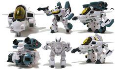 Robotech Veritech Super Deformed Figures