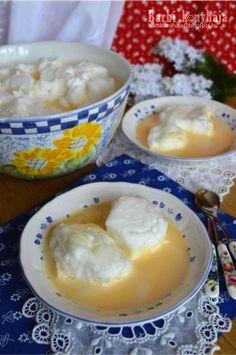 Az igazi madártej! ♥ - Barbi konyhája Hungarian Cookies, Hungarian Desserts, Hungarian Cake, Hungarian Cuisine, Hungarian Recipes, Hungarian Food, Recipe For Hungarian Goulash, Sausage Recipes, Cooking Recipes