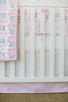 Project Nursery - Petunia Pickle Bottom Dreaming in Dax Nursery Crib Bedding Set
