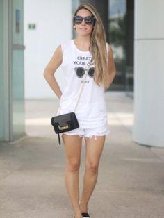 monicasors Outfit shorts alpargatas espadrilles BLACKANDWHITE mesvoyagesaparisblog Otoño 2013. Cómo vestirse y combinar según monicasors