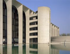 Mondadori Editorial Headquarters | Milan, Italy | Oscar Niemeyer | Roland Halbe Architectural Photography