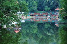 "The ""Bear"" lake in Sovata"
