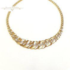 Arany Nyakék (méret:45) AF 49062 Piercing, Bracelets, Gold, Jewelry, Jewlery, Jewerly, Piercings, Schmuck, Jewels