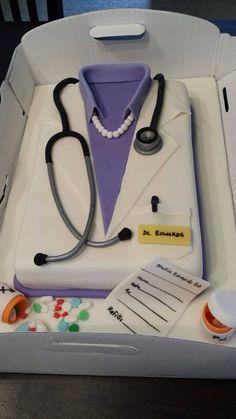 Graduation Cake - Doctor