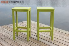 Easy DIY Stool Plans - Rogue Engineer