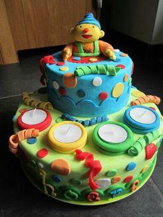 Blijvende taart gemaakt voor afscheid kinderdagverblijf dat werkt met Puk
