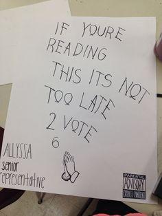 25 Hilarious Student Council Campaign Poster IdeasCheck ...