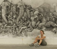 If It's Hip, It's Here: The 2012 ArtPrize Winner Adonna Khare And A Close Look At Her Mural.