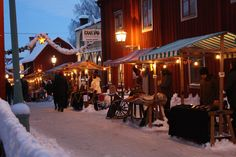 Swedish Christmas, Home Living Room, Old Town, Country Style, Sweden, Sweet Home, Fair Grounds, Street View, Travel