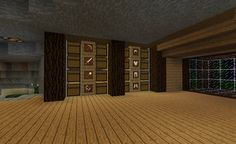 I was just wondering what other people's storage rooms look like, because I mainly stick to singleplayer. Here's my old storage room. Minecraft Storage Room, Minecraft Room, Minecraft Crafts, Minecraft Stuff, Minecraft Ideas, Minecraft Houses, Cool Minecraft Creations, Minecraft House Designs, Minecraft Interior Design