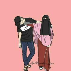 Nikah Explorer - No 1 Muslim matrimonial site for Single Muslim, a matrimonial site trusted by millions of Muslims worldwide. Love Cartoon Couple, Cute Cartoon Pictures, Cute Couple Art, Cute Love Cartoons, Cartoon Pics, Anime Love Couple, Cute Muslim Couples, Cute Couples, Cover Wattpad