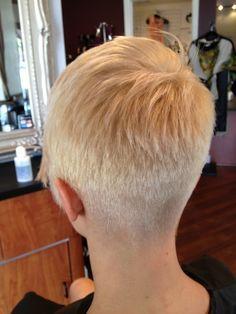 Short pixie cut, I love the back!!!