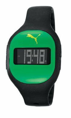 Puma Fuse Digital Dial Black Silicone Unisex Watch PU910921008 PUMA. $19.00. Puma Pu910921008 Fuse Jam Dark Green Watch