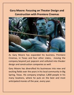 Gary Moore: Focusing on Theater Design and Construction with Premiere Cinemas