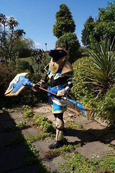 League of legends Nasus cosplay