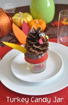 Turkey Candy Jar by Club Chica Circle.