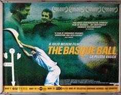 Cinema Poster: LA PELOTA VASCA 2003 (Quad) Xabier Arzalluz Bernardo Atxaga | eBay