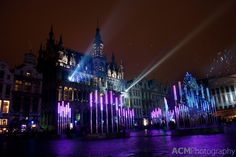 Grand Place in Brussels, Belgium is magical when it is decorated for the Christmas holidays