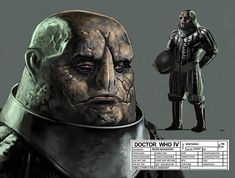 Doctor Who Sontaran Concept Art by Peter McKinstry Alien Concept Art, Concept Art World, Doctor Who Fan Art, Doctor Who Tardis, Character Concept, Character Art, Science Fiction, Classic Doctor Who, First Doctor