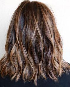 A Light Roast Brunette Hair Color Ideas | #brunette #brunettehair #brunettebalayage #darkhair #fallhair #fallcolor #readyforfall #ombre #ombrehair #brunettewaves #wavyhair #glamwaves #hairenvy #hairheaven #hairfashion #hairfirst #haireverything #perfecthair #hairwants #hairneeds #hairessentials #everydayhair