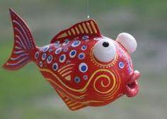paper mache fish - Google Search