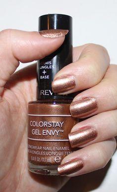 Revlon ColorStay Gel Envy Longwear Nail Enamel in Double Down ...