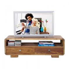 Houten TV meubel Club Authentico by: Kare design