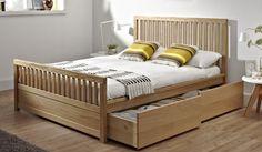 Double Bedstead Carvel Oak