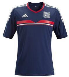 Olympique Lyon tercera. (Adidas)