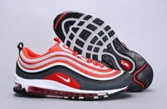 purchase cheap 09a01 006db Nike Air Max 97 Dark Grey, Wolf Grey, Gym Red 921826 007 Sneaker Women's  Shoes #SE008881